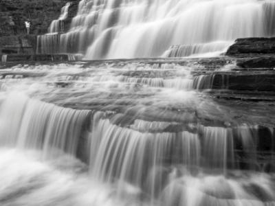 Hector Falls Black & White