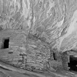 Black and White Anasazi Ruins