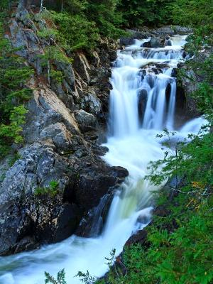 Silky Upper Split Rock Falls