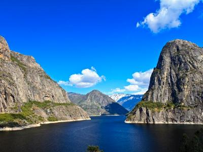 Clear Spring Day at Hetch Hetchy