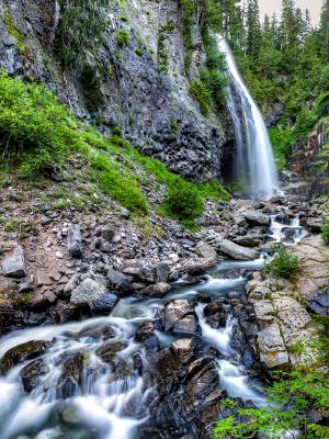 Narada Falls and Paradise River