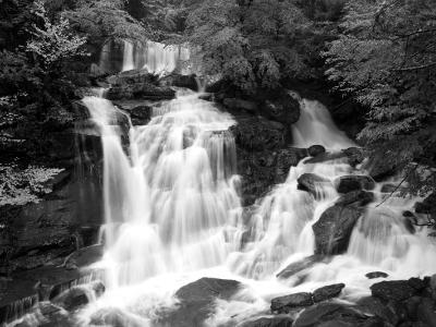 Silky Bastion Falls (B&W)
