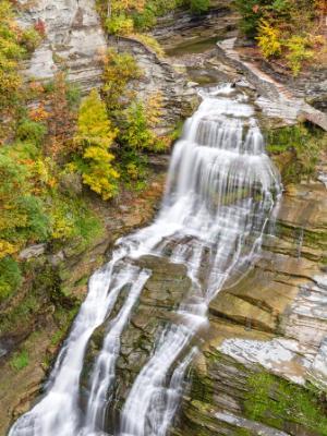Lucifer Falls Autumn Cascade