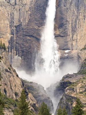 Yosemite Falls Ravine