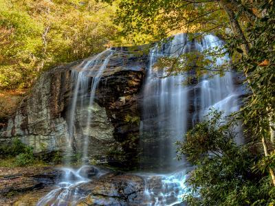 Silky Upper Glen Falls