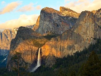 Bridalveil Falls Sunset
