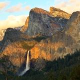 Bridalveil Falls Sunset