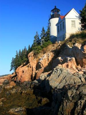 Bass Harbor Light House - vertical