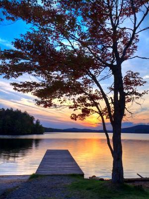 7th Lake Sunset