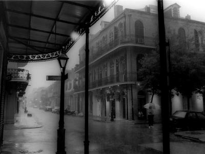 French Quarter Rainstorm