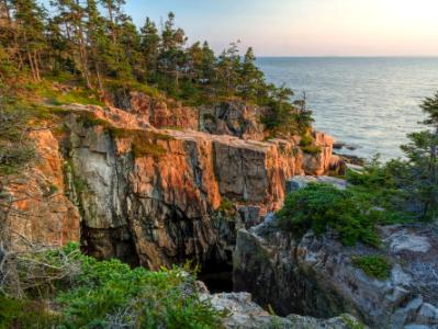 Raven's Nest Cliff Sunset