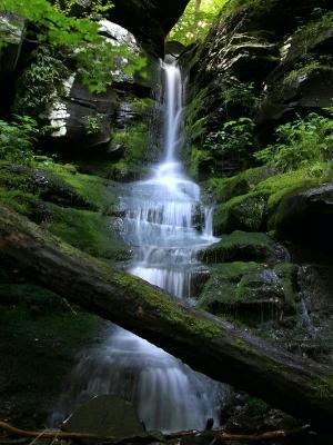 Bushnellsville Falls
