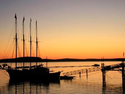 Tall Ship Sunrise in Bar Harbor 2