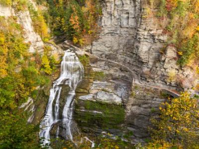 Autumn Splendor at Lucifer Falls