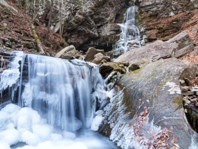 Frozen Buttermilk Falls