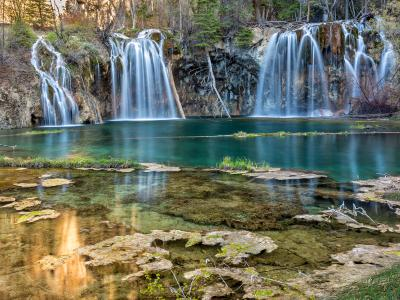 Morning Reflections in Hanging Lake