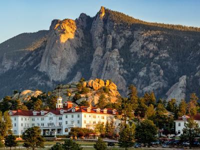 Morning Light on the Stanley Hotel