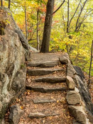 Appalacian Trail Granite Steps