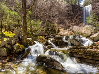 Spring at Stony Kill Falls