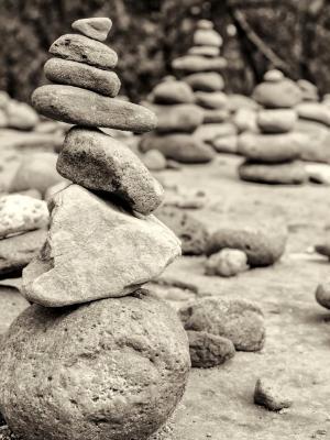 Sedona Rock Cairn