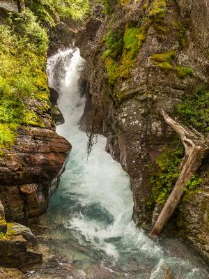 Hidden Falls Rushing Water
