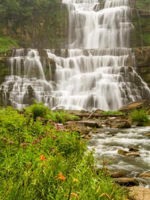 Rainy Day at Chittenango Falls