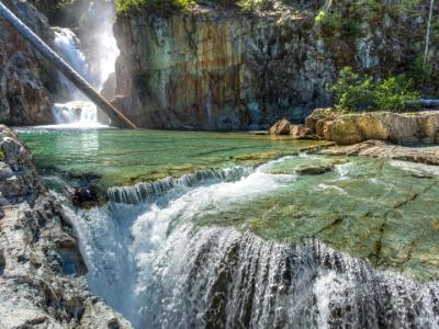 Many Layers of Myra Falls