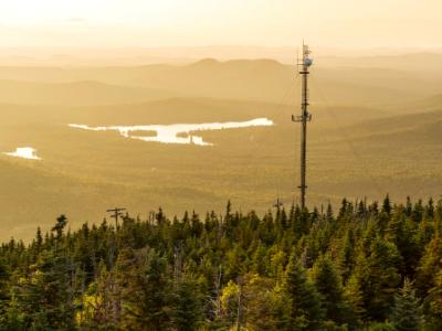 Blue Mountain Radio Tower