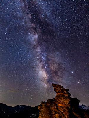 Rock Cut Milky Way