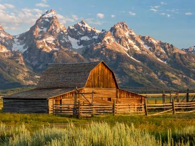 Moulton Farmstead in Granbd Teton
