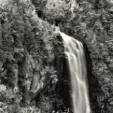 OK Slip Falls Black & White