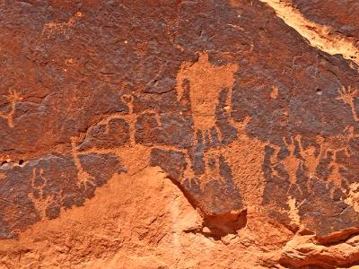 Moab Rock Art Panel