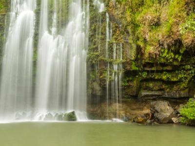 Llanos de Cortés waterfall and Grotto