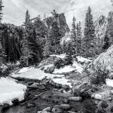 Tyndall Creek and Hallett Peak