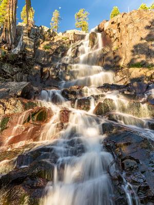 Morning Light on Eagle Falls
