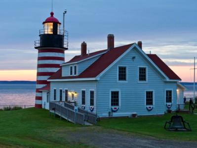West Quoddy Head Lighthouse Sunrise