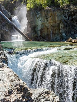 Myra Falls Chasms