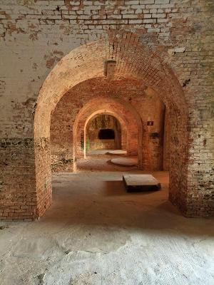 Fort Pickens Interior Arches