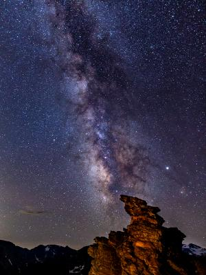 Rock Cut Milky Way