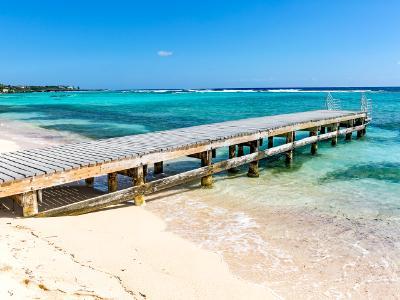 Pier on Grand Cayman Beach