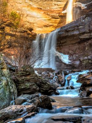 Early Winter Than at Kaaterskill Falls