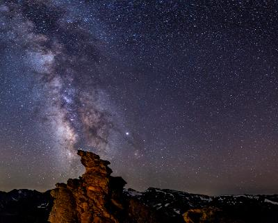 Rock Cut Milky Way and Continental Divide
