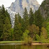Merced River and Half Dome