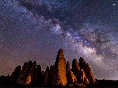 Arches Fins Milky Way
