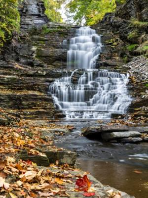 Giant's Staircase in Cascadilla Gorge