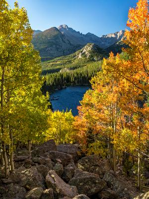 Autumn Vista from Bear Lake Rock Pile