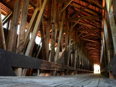 Ghosts of Blenheim Covered Bridge