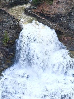 Spring Torrent at Lucifer Falls