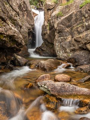 Chasm Falls on Fall River