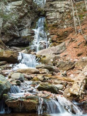Peekamoose Gorge Buttermilk Falls